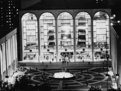 The Metropolitan Opera House, Lincoln Center, New York, 1969