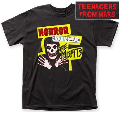 The Misfits- Horror Business (Front/Back)