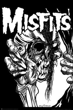 The Misfits (Pushead) Music Poster Print