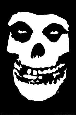 The Misfits (Skull, No Text) Music Poster Print