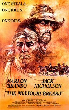 The Missouri Breaks, Marlon Brando, Jack Nicholson, 1976