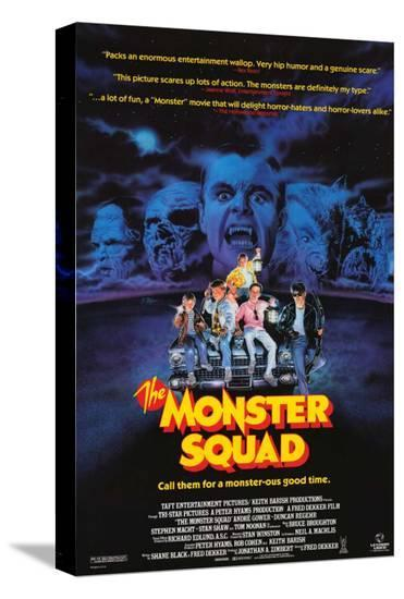 The Monster Squad--Stretched Canvas