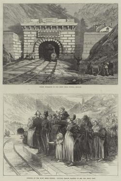 The Mont Cenis Tunnel