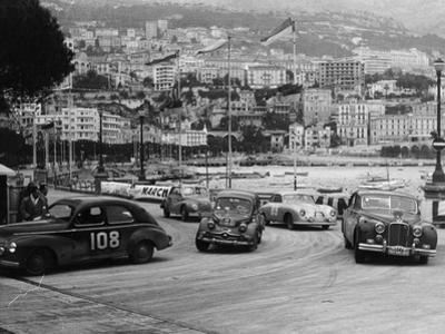 The Monte Carlo Rally, Monaco, 1954