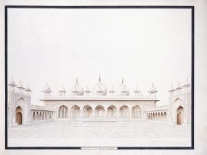 The Moti Musjid in the Fort of Agra, C. 1815
