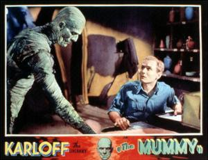 The Mummy, Boris Karloff, Bramwell Fletcher, 1932