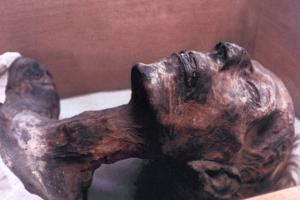 The Mummy of Rameses II, Egypt, 1213 Bc