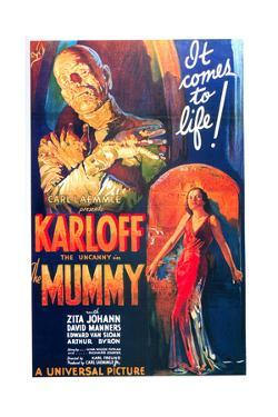 The Mummy, One Sheet Poster, 1932