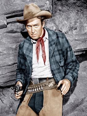 THE NAKED SPUR, James Stewart, 1953