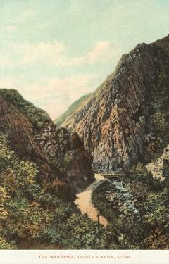 The Narrows, Ogden Canyon, Utah