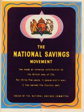 The National Savings Movement, 1951