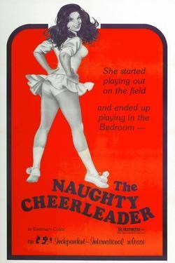 THE NAUGHTY CHEERLEADER, US poster, Barbi Benton, 1970