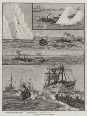 The Naval Manoeuvres at Portsmouth
