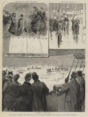 The Naval Review and Sham Fight at Portsmouth before the Colonial and Indian Visitors