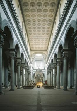 The Nave, St Mary of the Holy Spirit Church, Florence