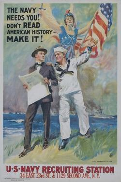 The Navy Needs You! Recruiting Poster