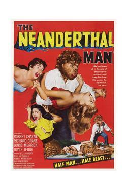 The Neanderthal Man, Robert Shayne (Top), 1953