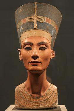The Nefertiti Bust, Ca 1350 Bc
