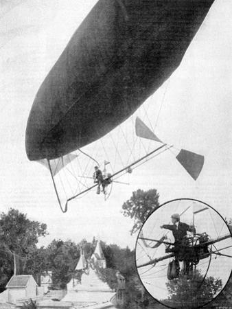The New Airship of Alberto Santos-Dumont, 30th September 1900
