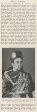 The New Ameer of Afghanistan, Habibullah Khan, Acknowledged by the British Government