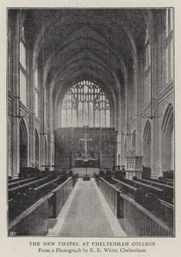 The New Chapel at Cheltenham College