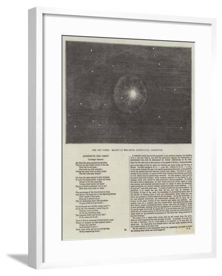 The New Comet--Framed Giclee Print
