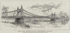 The New Hammersmith Suspension Bridge