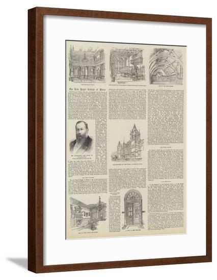 The New Royal College of Music--Framed Giclee Print