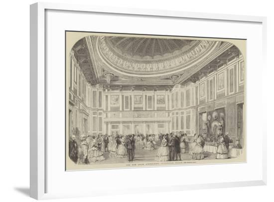 The New State Supper-Room, Buckingham Palace--Framed Giclee Print