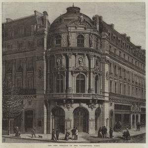 The New Theatre of the Vaudeville, Paris