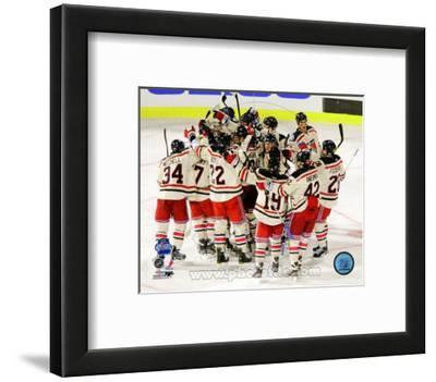 Framed Buffalo Sabres Winter Classic Team Photo Size: 12.5 x 15.5