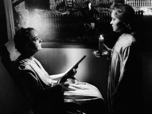 The Night Of The Hunter, Lillian Gish, Robert Mitchum, Gloria Castillo, 1955
