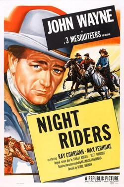 The Night Riders, John Wayne, 1939