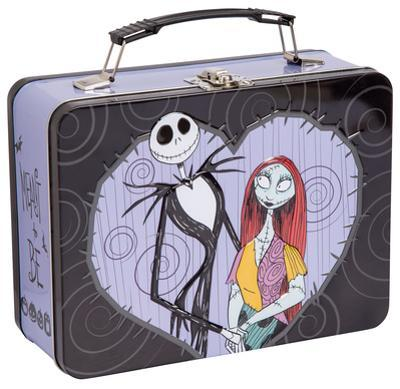 The Nightmare Before Christmas - Jack & Sally Tin Lunch Box