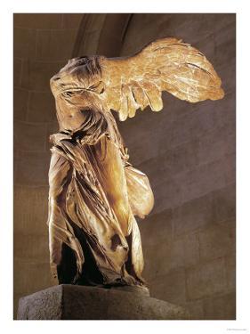 The Nike of Samothrace, Goddess of Victory