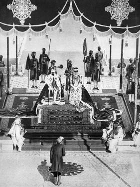 The Nizam of Hyderabad Pays Hommage at the Delhi Durbar, 1911
