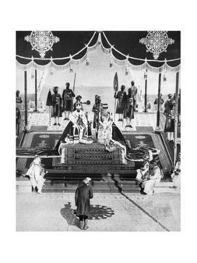 The Nizam of Hyderabad Pays Hommage at the Delhi Durbar, 1911