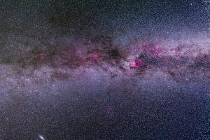The Northern Milky Way from Cygnus to Cassiopeia and Perseus