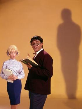 THE NUTTY PROFESSOR, 1963 directed by JERRY LEWIS Stella Stevens and Jerry Lewis (photo)