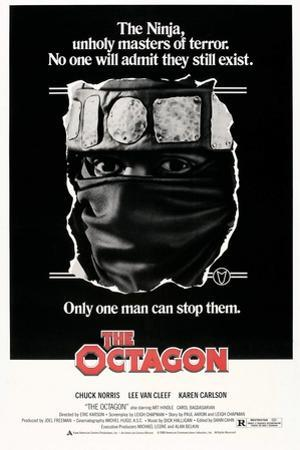 THE OCTAGON, US poster, Chuck Norris, 1980. © American Cinema Releasing/courtesy Everett Collection