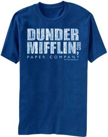 The Office- Distressed Dunder Mifflin Logo