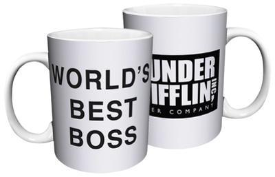 The Office - Dunder Mifflin World's Best Boss Mug