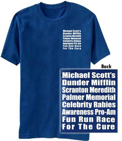 The Office- Fun Run Race (Front/Back)