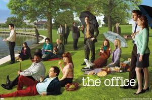 The Office - Team On Lawn