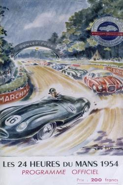 The Official Programme for Le Mans 24 Hours, 1954