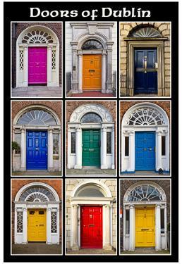 The Old Georgian Doors Of Dublin