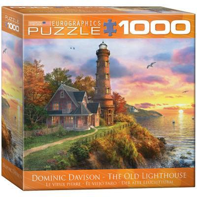 The Old Lighthouse by Dominic Davison 1000 Piece Puzzle