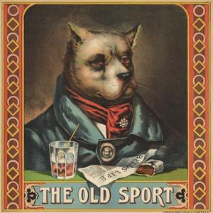 The Old Sport Tobacco Crate Label