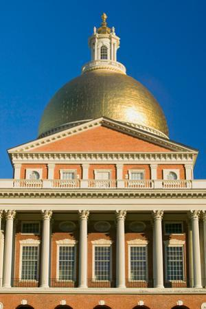The Old State House for the Commonwealth of Massachusetts, State Capitol Building, Boston, Mass.