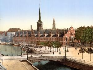 The Old Stock Exchange, Copenhagen, 1890-1900